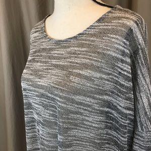 Olive & Oak Sweaters - Olive & Oak marled grey dolman sweater